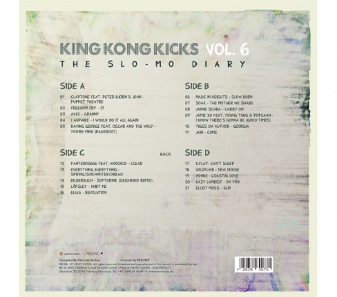 King Kong Kicks Vol. 6 Vinyl Edition - The Slo-Mo Diary Vorschau 1