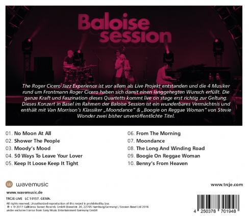 The Roger Cicero Jazz Experience - Live @ Baloise Session Vorschau 1