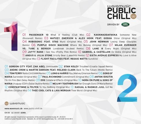 public chill Vol. 5 - Doppel CD - Deluxe Edition Vorschau 1