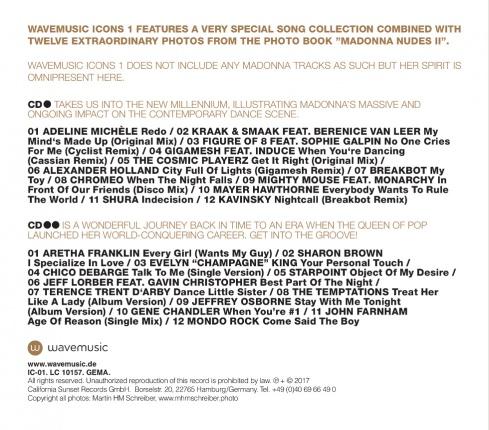 wavemusic ICONS 01 - deluxe CD compilation Vorschau 1