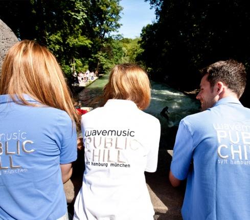 wavemusic Polo-Shirt by van Laack, Männer, blau Vorschau 1
