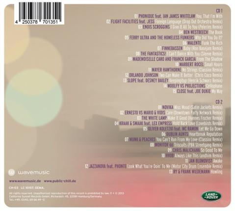 wavemusic Public Chill Vol. 3 - Doppel CD Vorschau 1