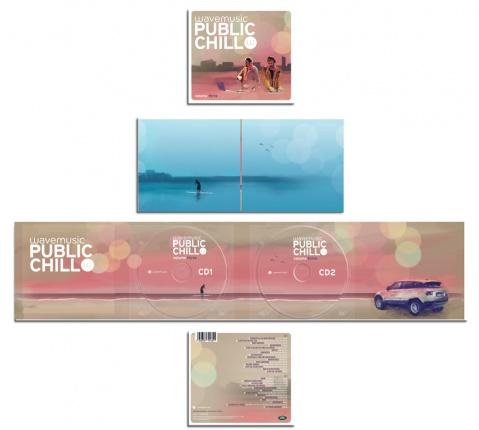wavemusic Public Chill Vol. 3 - Doppel CD Vorschau 2